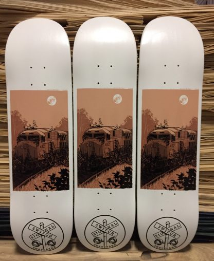 Justin Santora X Switch and Signal Skate Deck