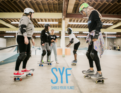 Shred Your Fears for women, female-identifying, and non-binary people